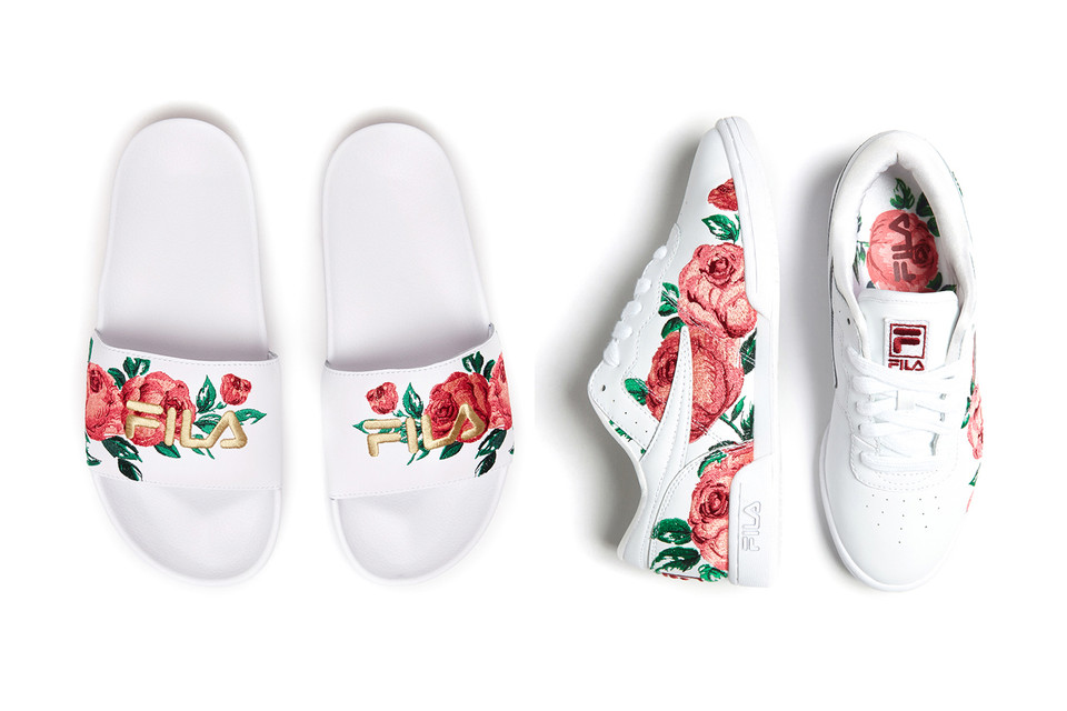 37c1ad5fd582 Spring Blooms on FILA s Floral Embroidery Pack