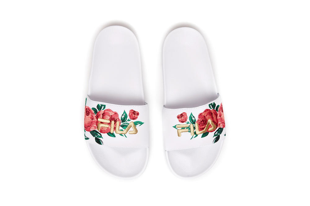 d63af9b8a3b3 Spring Blooms on FILA s Floral Embroidery Pack