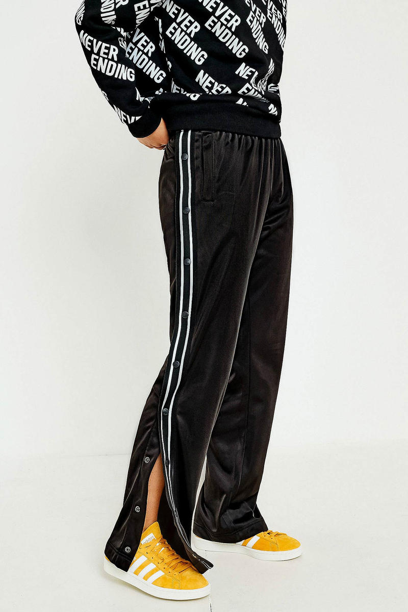 FILA Lauren Popper Track Pants Black