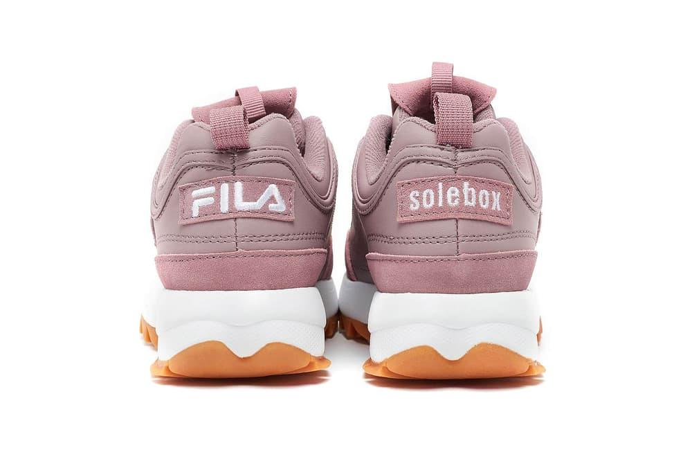 Solebox FILA Disruptor Dusty Rose Pink
