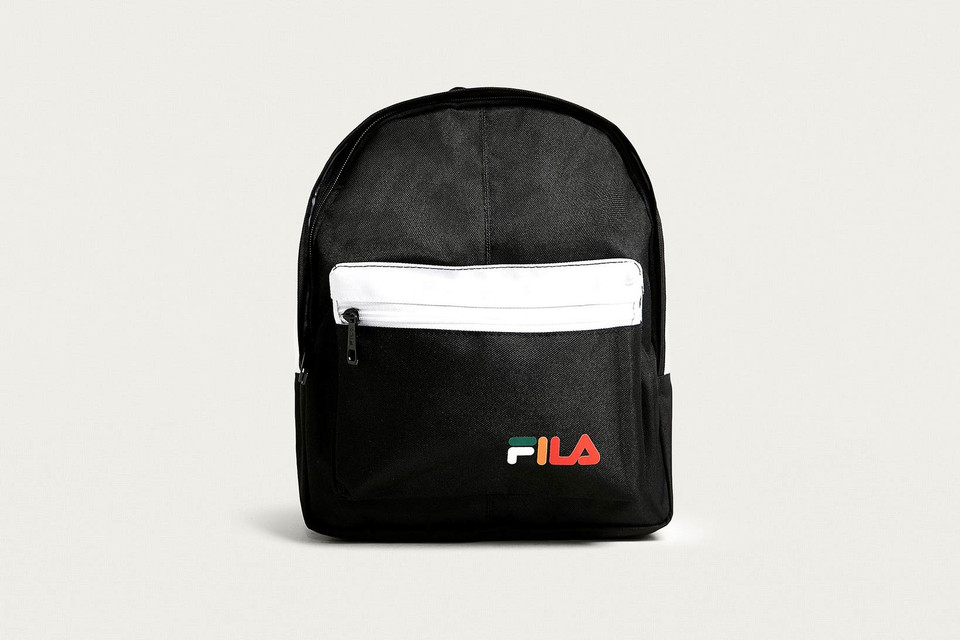 Buy FILA x Urban Outfitters  Mini Black Backpack