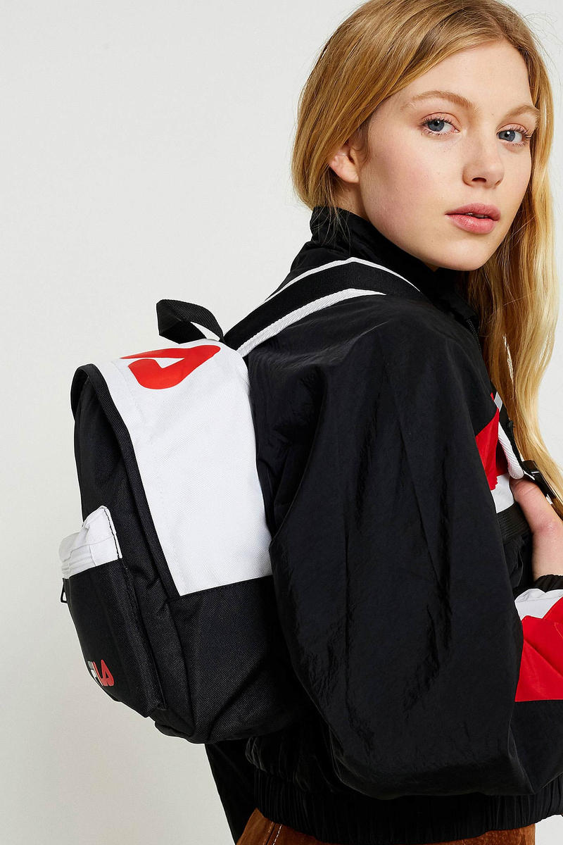 FILA Urban Outfitters Street Small Backpack Black