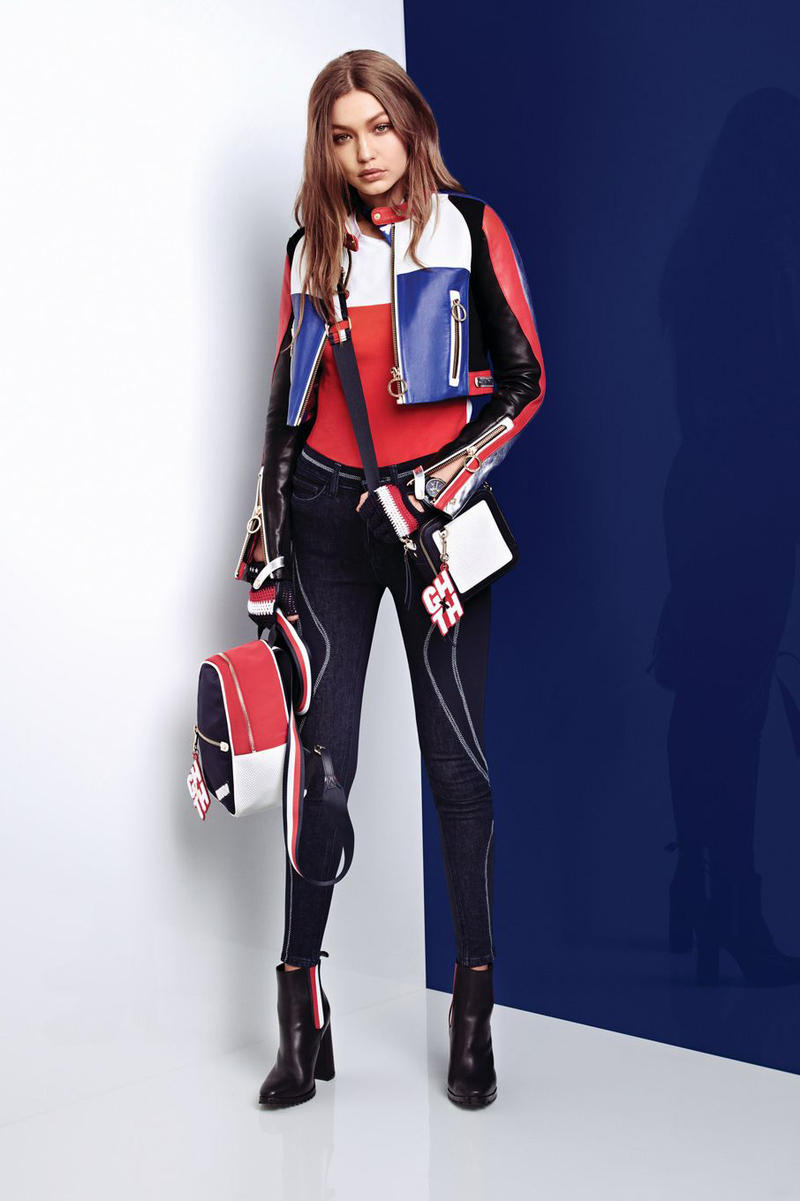 Gigi Hadid x Tommy Hilfiger Spring 2018 Collection Tommy x Gigi Lookbook Capsule Reveal Launch American Race inspired