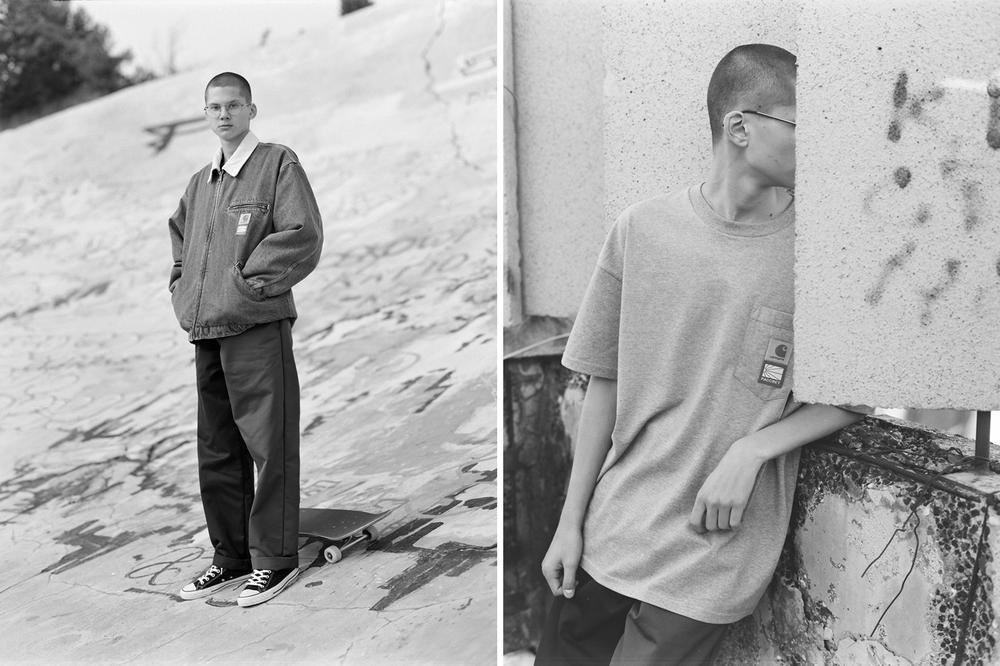 PACCBET x Carhartt WIP Capsule Collection Jacket and Pocket T-Shirt
