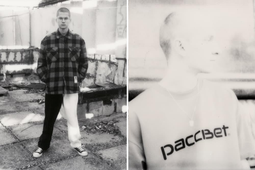 PACCBET x Carhartt WIP Capsule Collection Plaid Shirt Master Pants T-Shirt