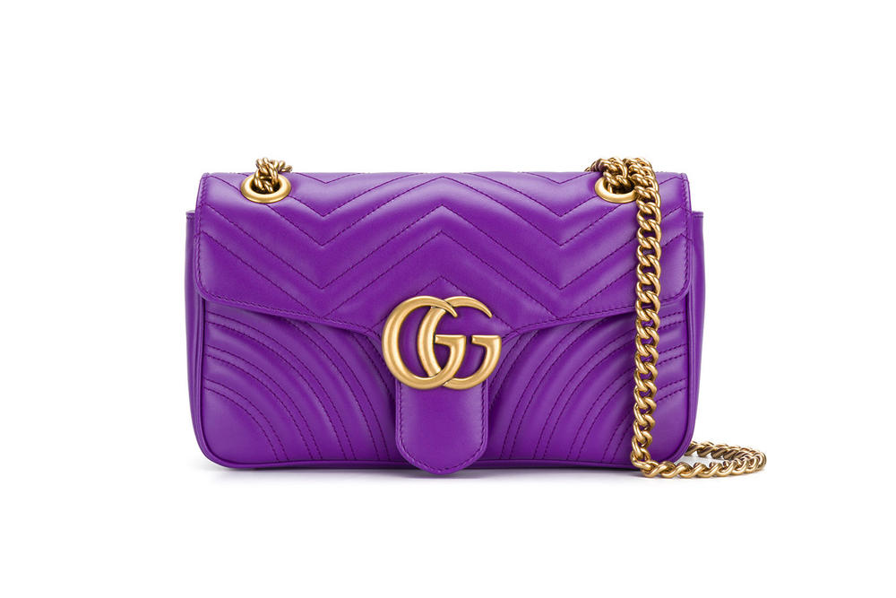 Gucci GG Marmont Ultra Violet Purple Bag Alessandro Michele