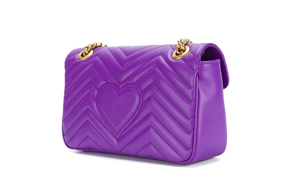 Gucci GG Marmont Ultra Violet Purple Bag Alessandro Michele