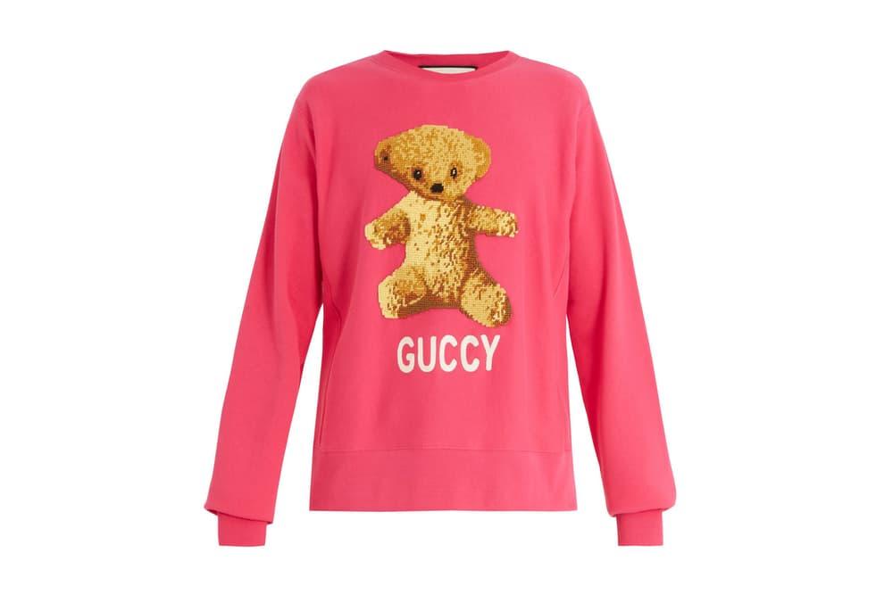 Gucci Bootleg Guccy Printed Sweatshirts Snake Luxury Sweater Teddy Bear Cozy