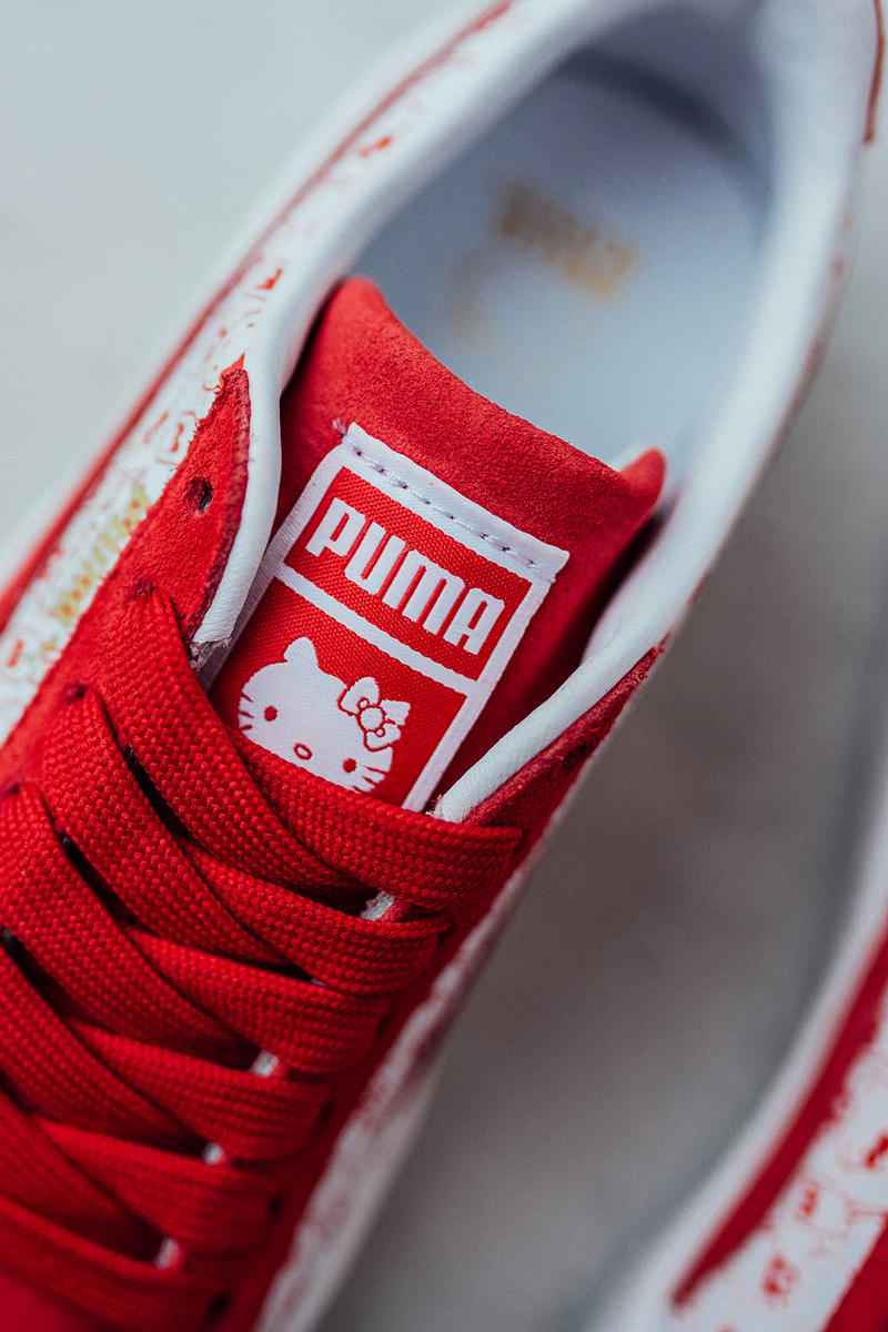 Hello Kitty x PUMA Suede Collection