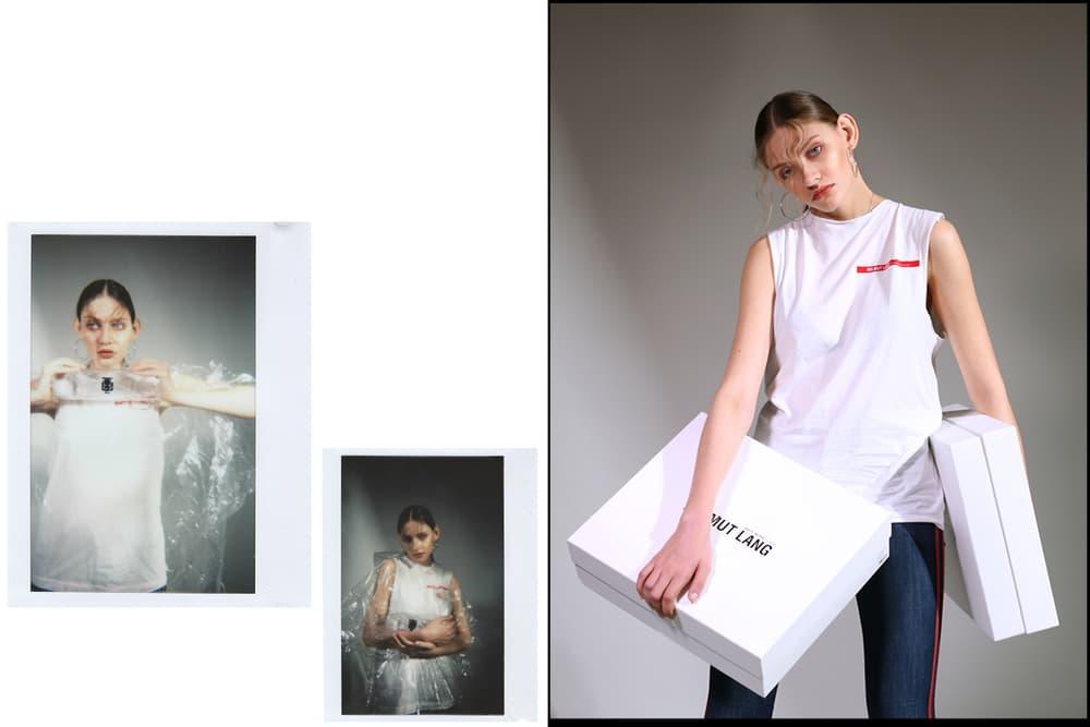 HBX editorial womens streetwear bloomwood Helmut Lang Alexander Wang Calvin Klein Jeans buy