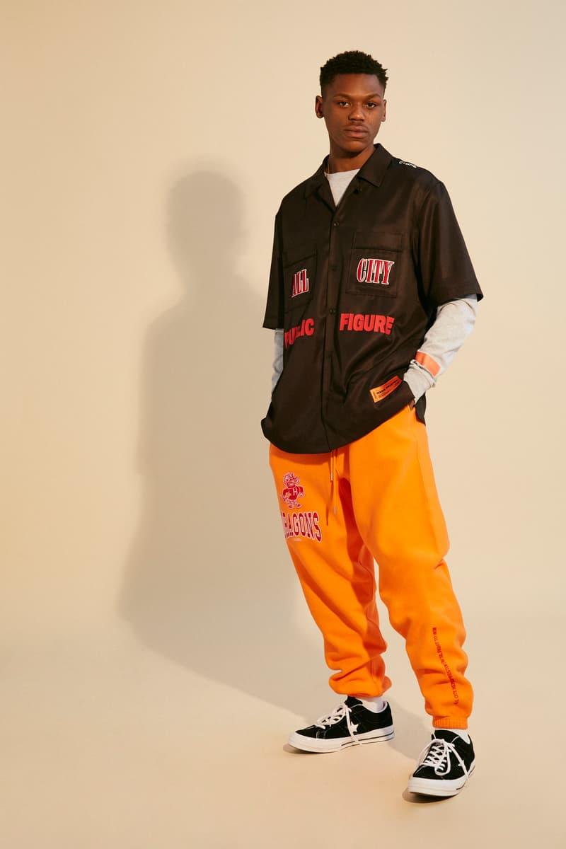 Heron Preston Fall/Winter 2018 Collection Public Figure Streetwear Influencer Culture Street Style Carhartt WIP NASA