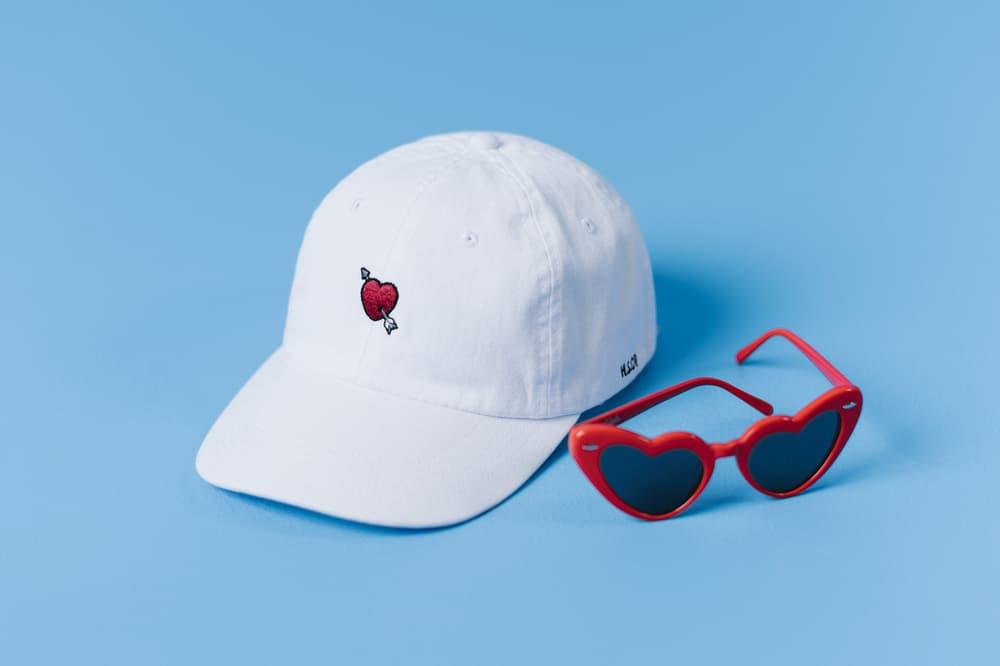 Herschel Supply Heartfelt Collection Cap White