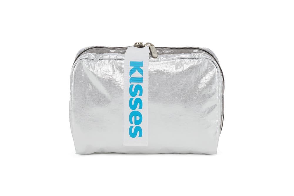 Hershey LeSportsac Silver XL Rectangular Cosmetic
