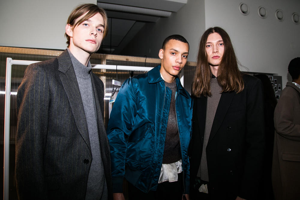 HOPE stockholm fashion week backstage aw18 fw18 fall winter autumn 2018 show bts unisex genderless gender neutral menswear womenswear