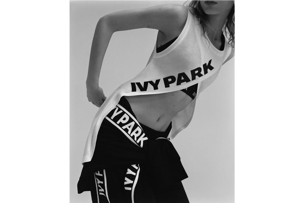 IVY PARK Spring/Summer 2018 Lookbook Logo T-Shirt White