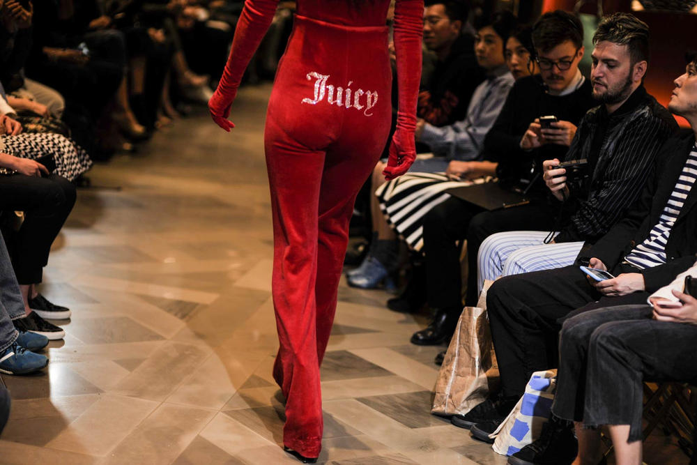 Juicy Couture Vetements Red Tracksuit Getty Images