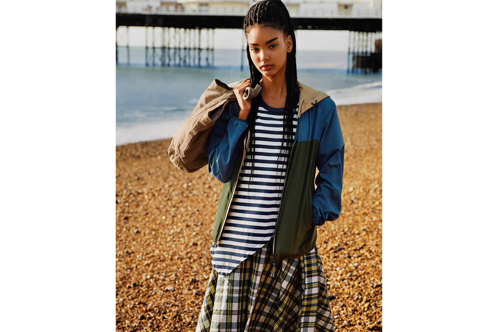 JW Anderson Uniqlo Spring Summer 2018 Collaboration Collection Brighton Beach Campaign