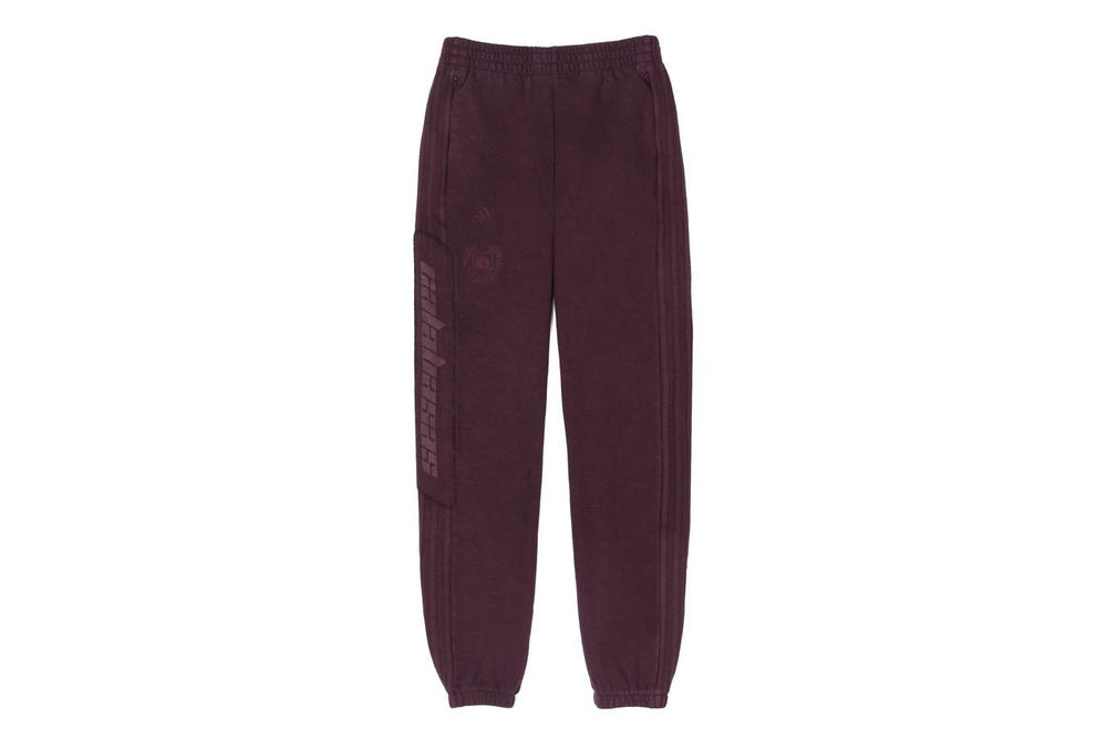 Kanye West Calabasas Sweatpants Yeezy Supply Season 5 Track Pant Women Kim Kardashian Oxblood Burgundy Red Black Ink Blue Luna adidas