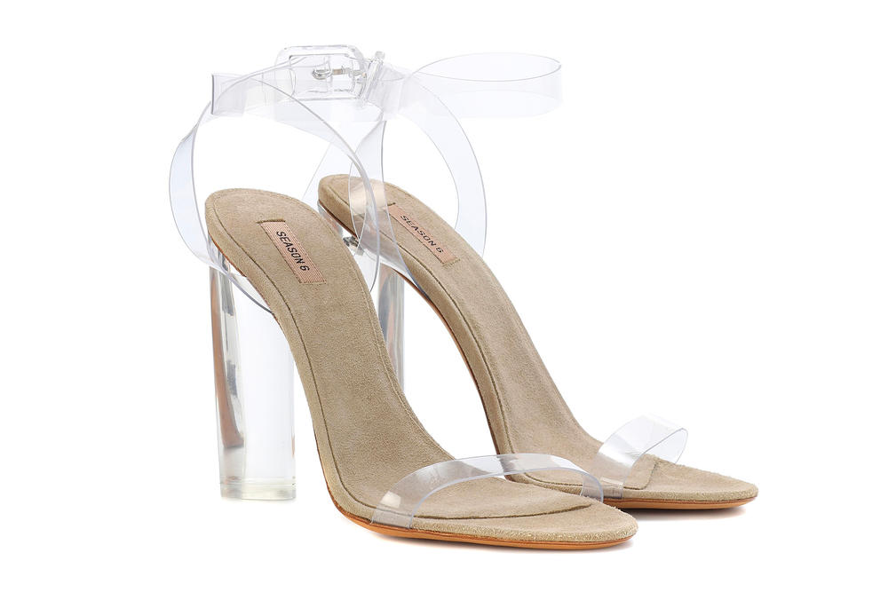 17c277e9300 Kanye West YEEZY Season 6 Transparent Heels Sandals mytheresa.com