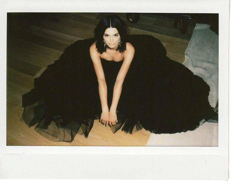 Kendall Jenner Vogue 2018 Golden Globe Awards Photo Diary