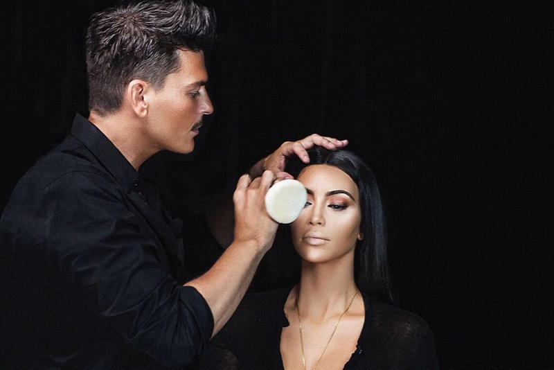 Kim Kardashian Mario Dedivanovic KKW Beauty Makeup By Mario Makeup Artist Collaboration Collection Eyeshadow Beauty Teaser
