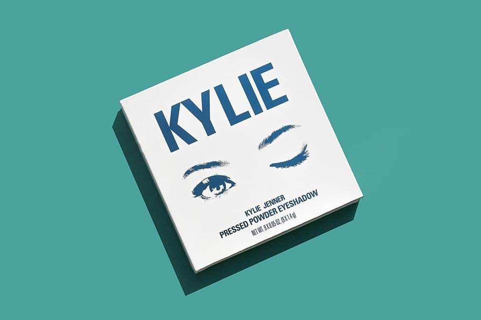 Kylie Cosmetics Blue Honey Eyeshadow Palette Liquid Lipstick Jenner Spring 2018 Kit Warm Velvet