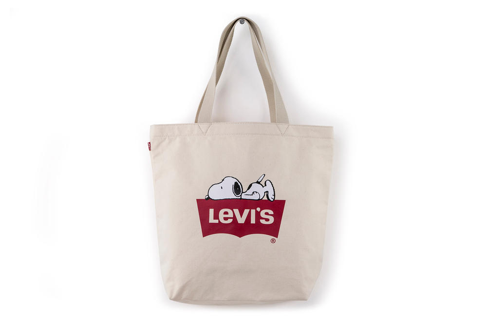 Levis Peanuts Snoopy Year of the Dog Collaboration Tote Bag
