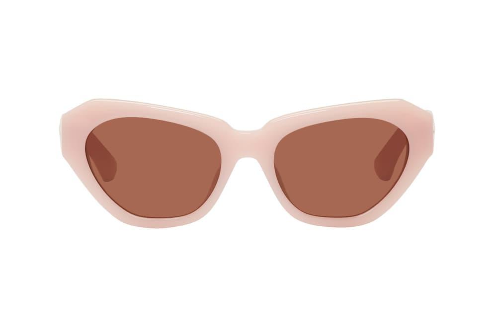 5c1aa8d69b39 Dries Van Noten Linda Farrow edition 166 sunglasses shades collaboration  2018 peony pink purple lilac ultra