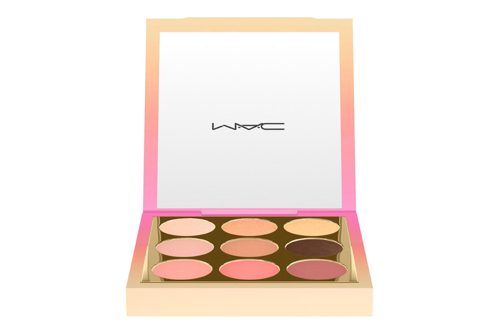 MAC Cosmetics Lunar New Year 2018 Makeup Collection Lipstick Palette Compact Blush Eyeshadow Dog Pink Ombre Peach Chinese