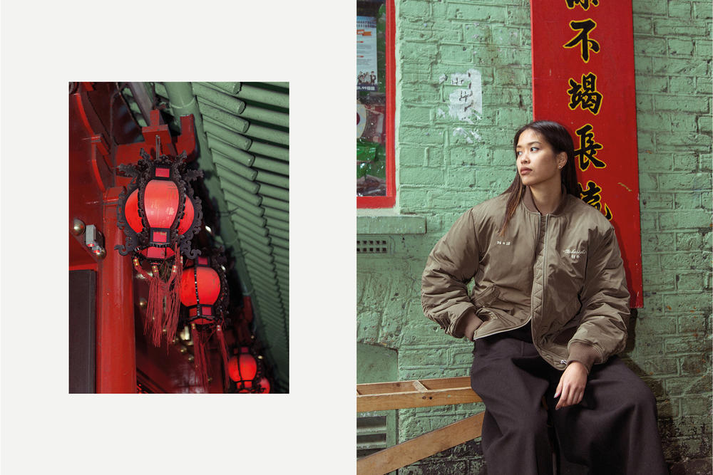 maharishi year of the chien chinese new year tour jacket lux nylon