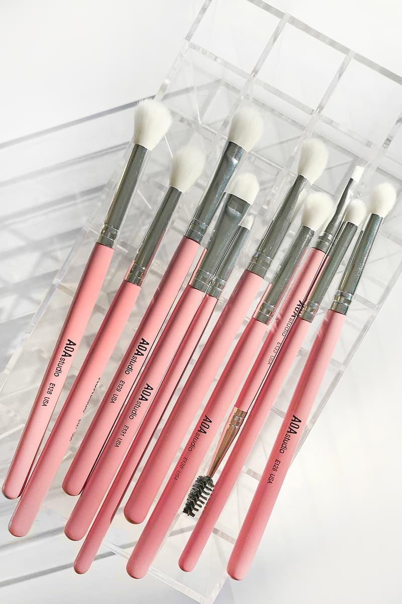 MISS A AOA Millennial Pink Brush Set