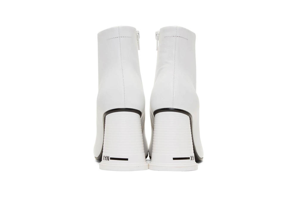 MM6 Maison Margiela Cup To Go Ankle Boot White