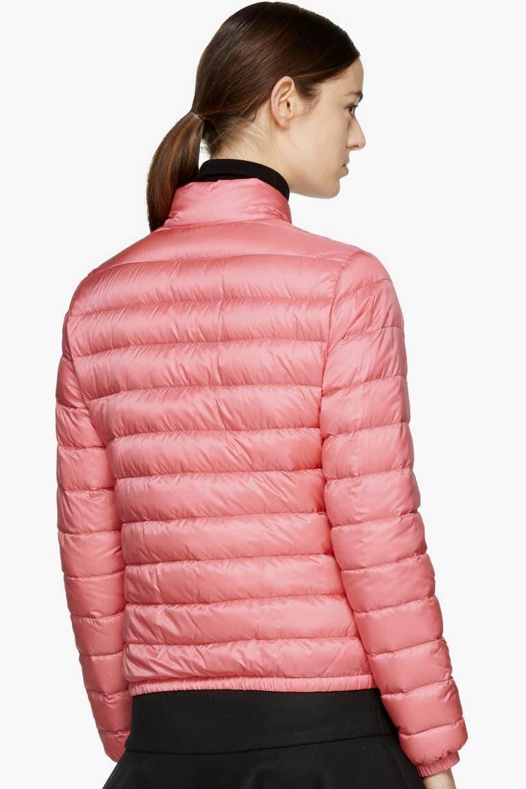 Moncler Down Lans Jacket Pink