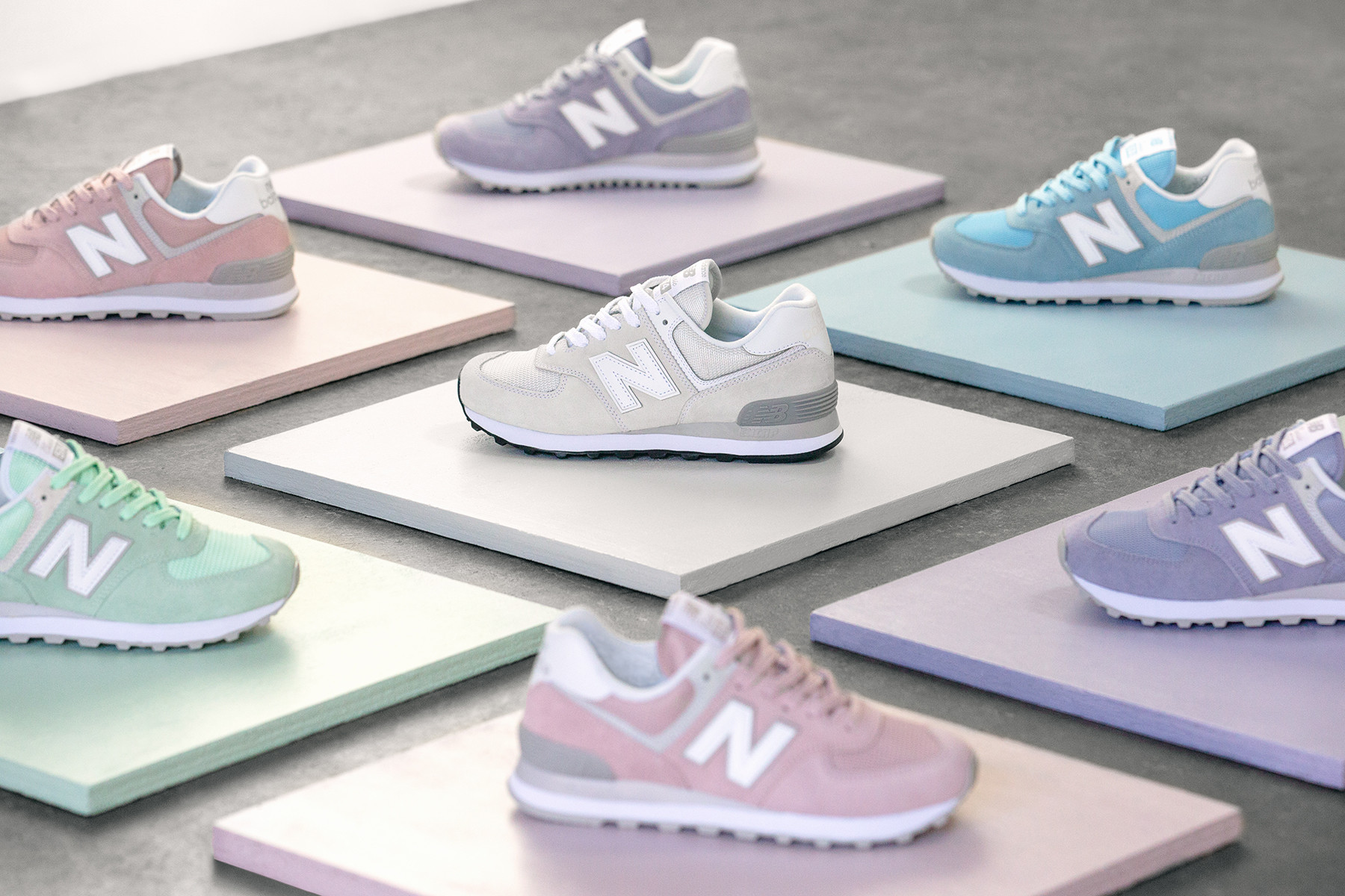 New Balance Releases Classic 574 Pastel