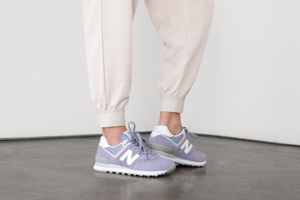 new product c704a fac61 New Balance 574 Classic Pastel Pack Purple