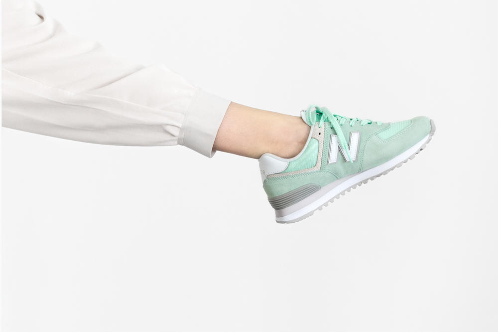 New Balance 574 Classic Pastel Pack Green