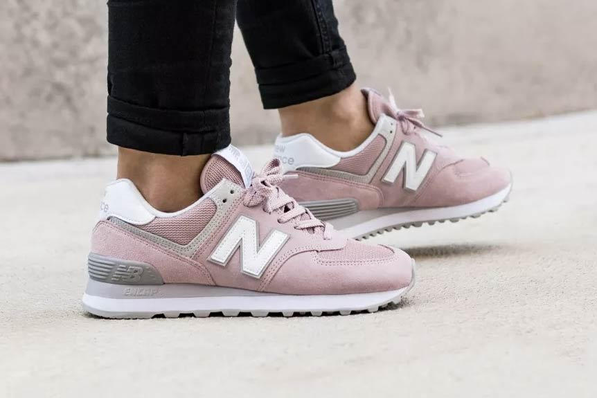 innovative design 2022b 4fbac New Balance 574 Is Back in a 2018 Pink | HYPEBAE