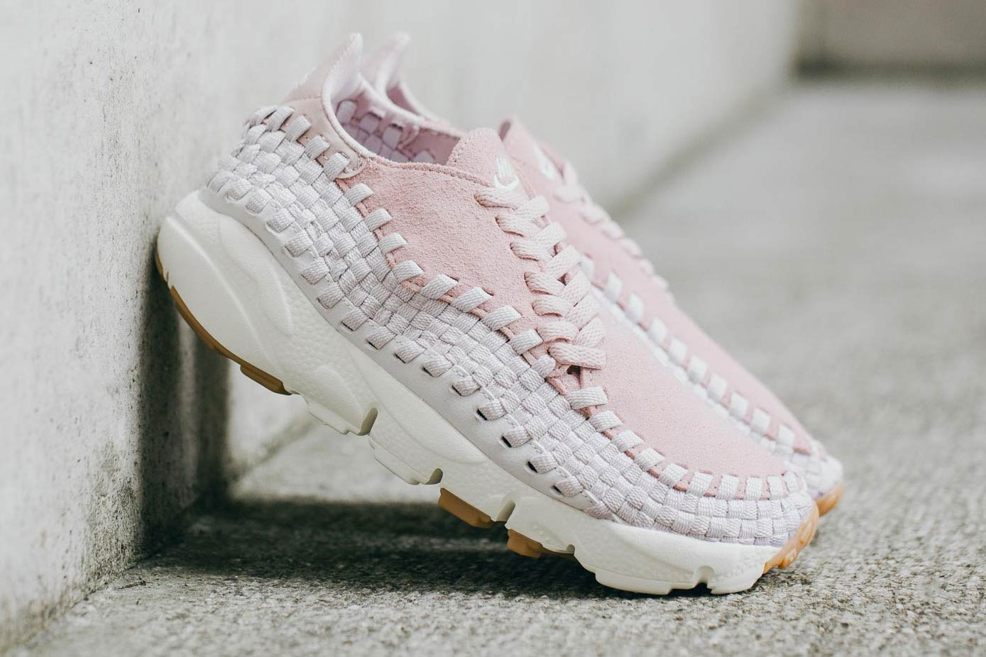 Air Footscape Woven in Particle Rose