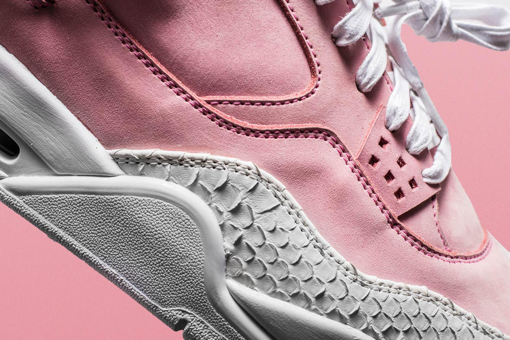 The Shoe Surgeon Nike Air Jordan 4 French Rose