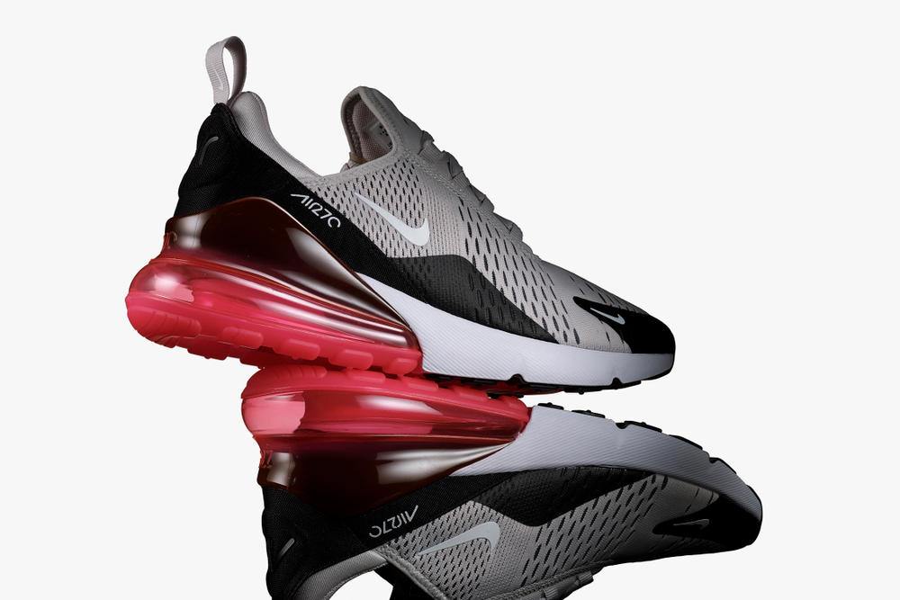 Nike Air Max 270 Silhouette Sneaker Shoe Innovation Technology Comfort Durability Debut Reveal Trainer Air Bubble Breathability