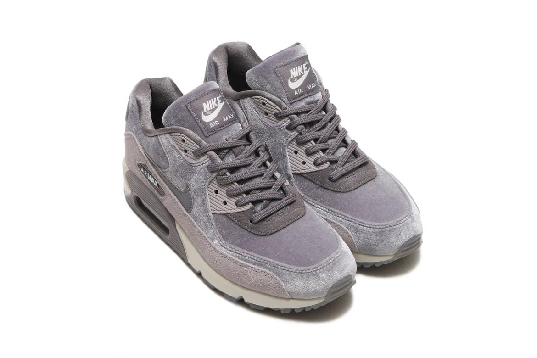 big sale 06f03 97cf3 Nike Air Max 90 in Velvet Particle Rose Gunsmoke | HYPEBAE