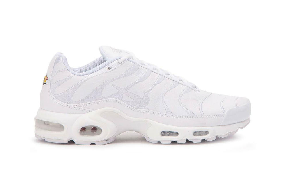 Where to Buy Nike's Air Max Plus in Triple White | HYPEBAE