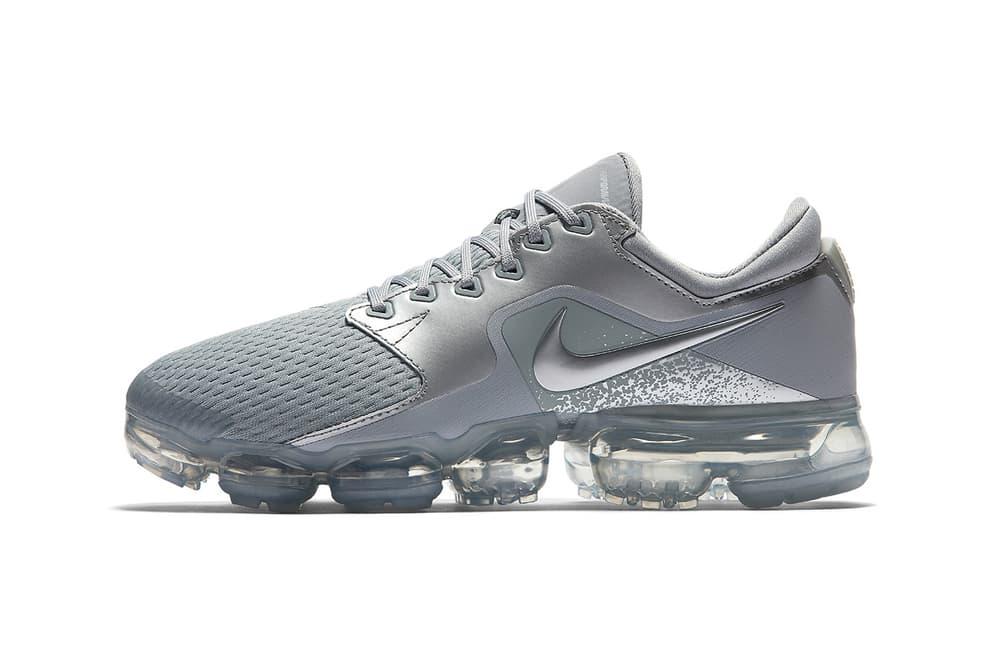 Nike Air VaporMax CS Wolf Grey metallic silver 2018 womens ladies sneakers 860b314e2d
