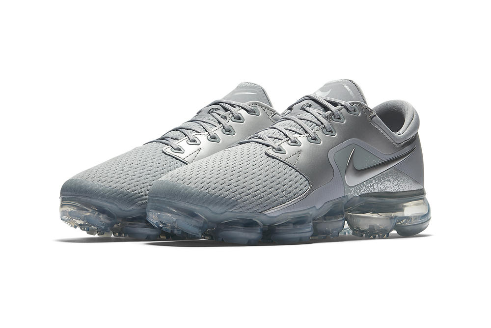 9764070c86a8 Nike Air VaporMax CS Wolf Grey metallic silver 2018 womens ladies sneakers