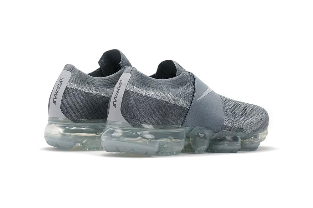 Nike Air VaporMax Flyknit Laceless Cool Grey