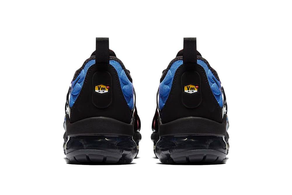 Nike Air VaporMax Plus Hyper Violet Sneaker Hybrid Gradient Black Blue Purple Futuristic Silhouette