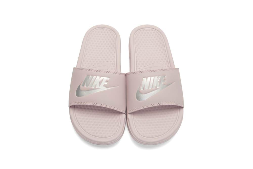 Nike Benassi Slides Particle Rose