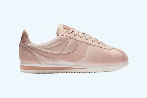 9b4a5d88e4f Nike s Blush Pink Classic Cortez Is for the Shy Girls