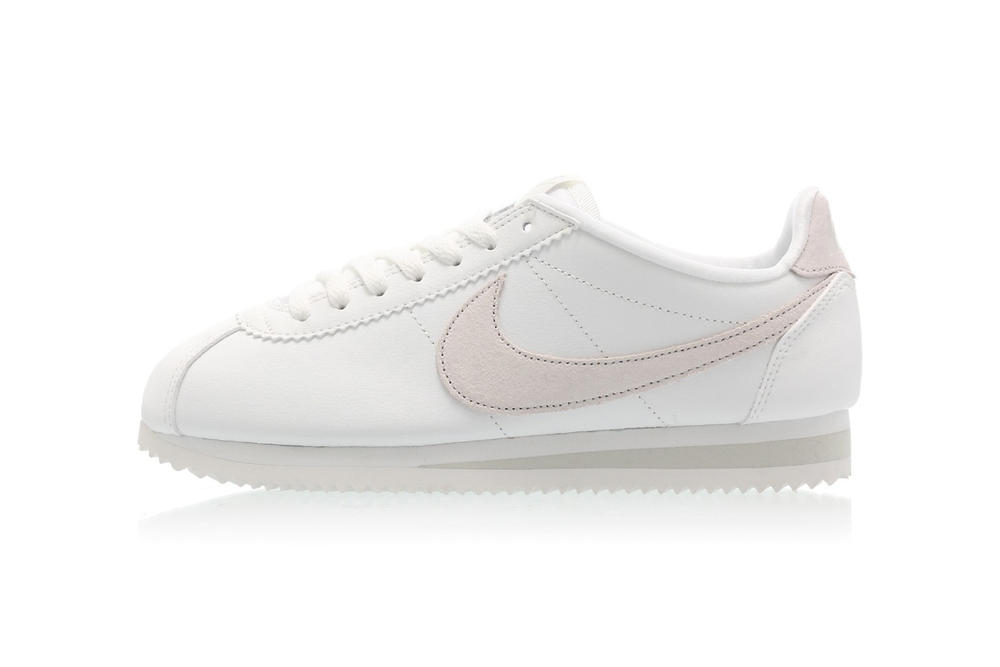 free shipping a91dc d7acb Nike Classic Cortez Premium Summit White Ivory Light Bone