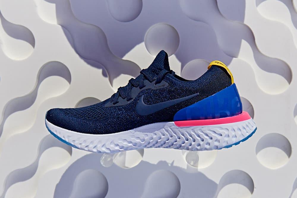 Nike Epic React Flyknit Blue